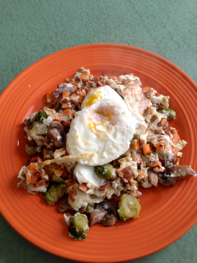 Brussels Sprouts And Egg Skillet Recipes — Dishmaps